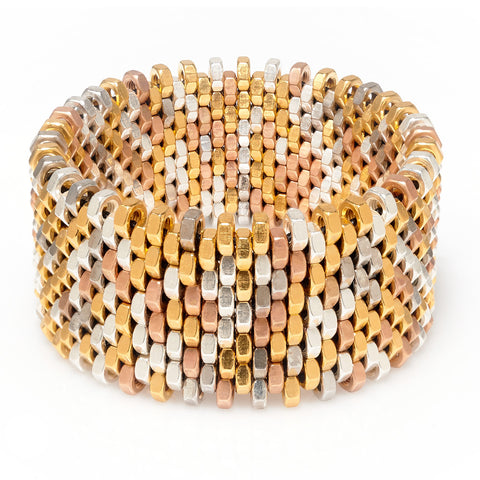 Isla Metallics Cuff by Alice Menter - 1