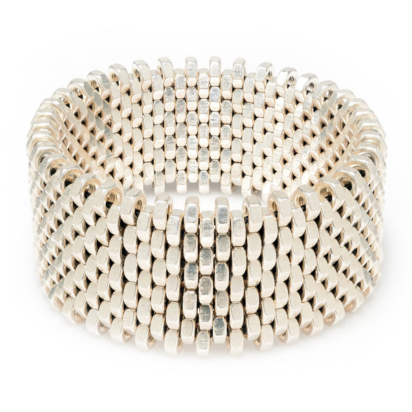 Isla Silver Cuff by Alice Menter - 1