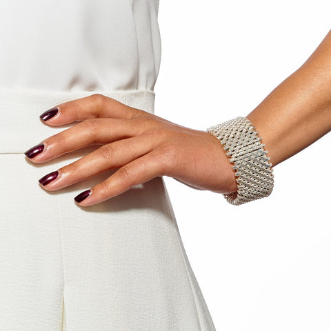 Isla Silver Cuff by Alice Menter - 2