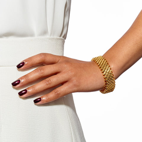 Ivy Gold Cuff by Alice Menter - 2
