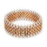Ivy Gold Dot Cuff by Alice Menter - 1