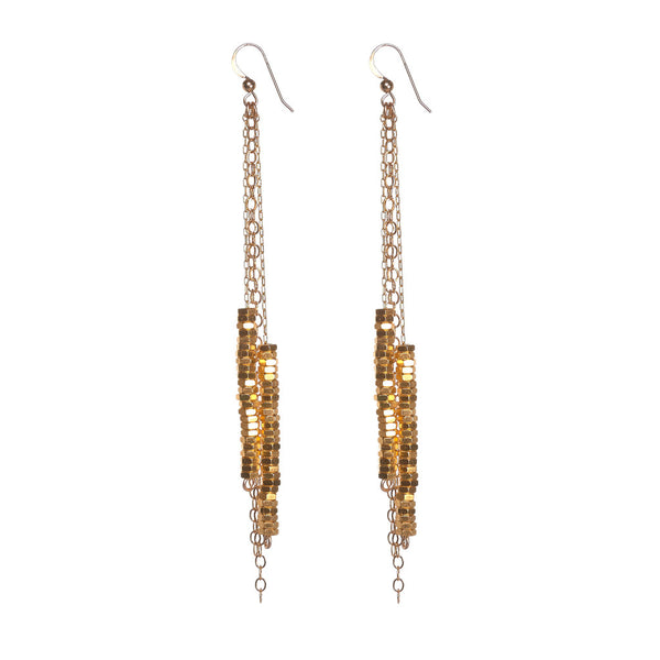 Katie Gold Earrings by Alice Menter - 1