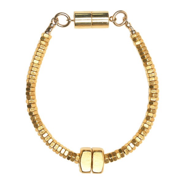 Mandie Gold Bracelet by Alice Menter - 1