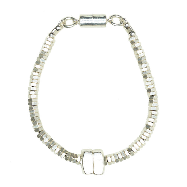 Mandie Silver Bracelet by Alice Menter - 1