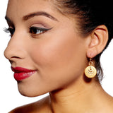 Rosie Gold Earrings by Alice Menter - 2