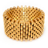 Ruby Gold Cuff by Alice Menter - 1