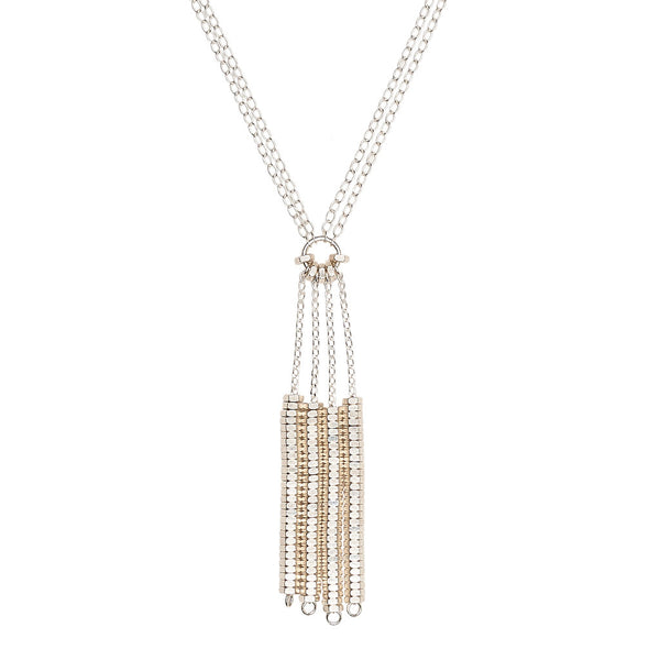 Sadie Silver Necklace by Alice Menter - 1