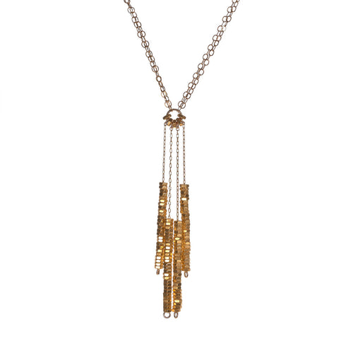Sadie Gold Necklace by Alice Menter - 1