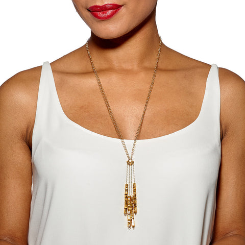 Sadie Gold Necklace by Alice Menter - 2