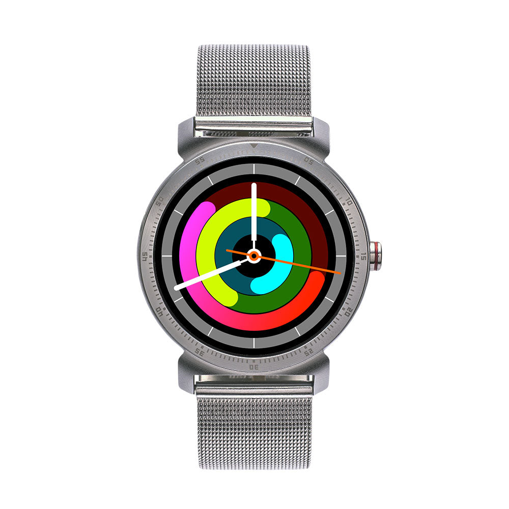 Koala™ Fuzion Smartwatch (Raw Steel)