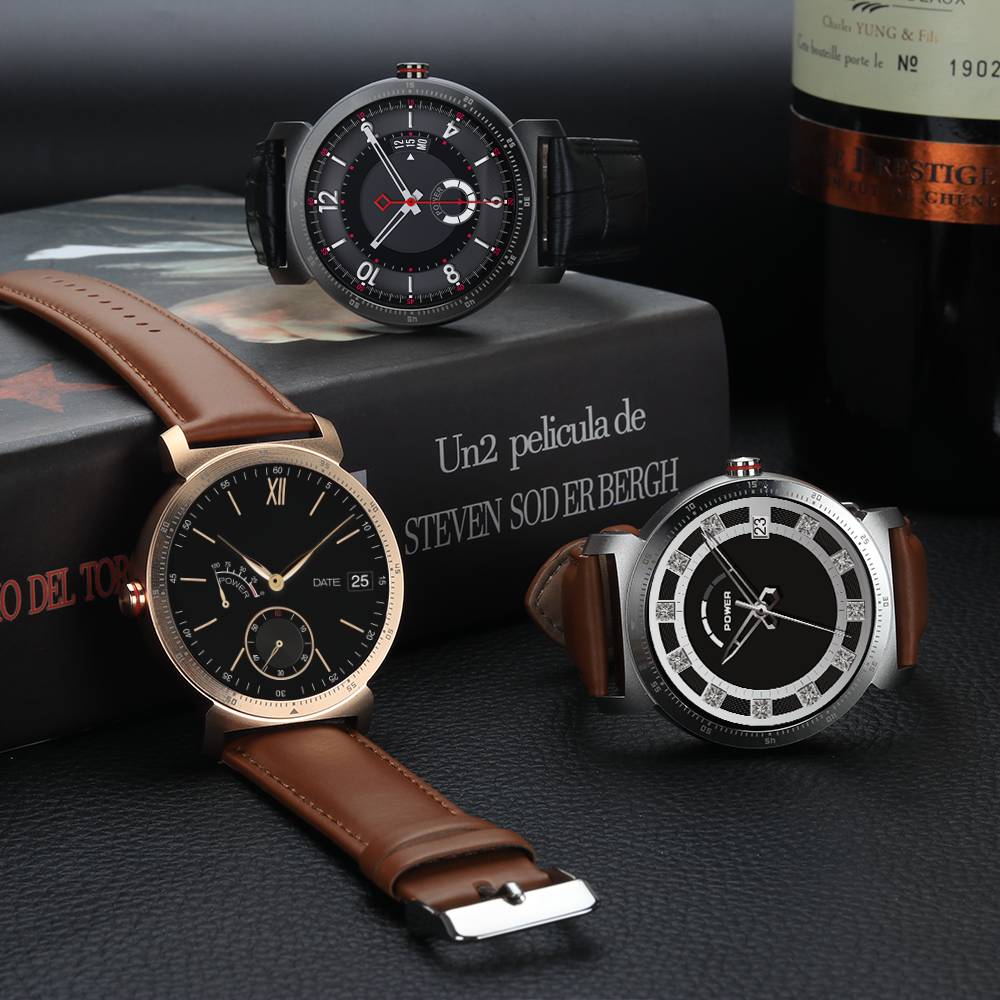 Koala™ Fuzion Smartwatch Leather Series