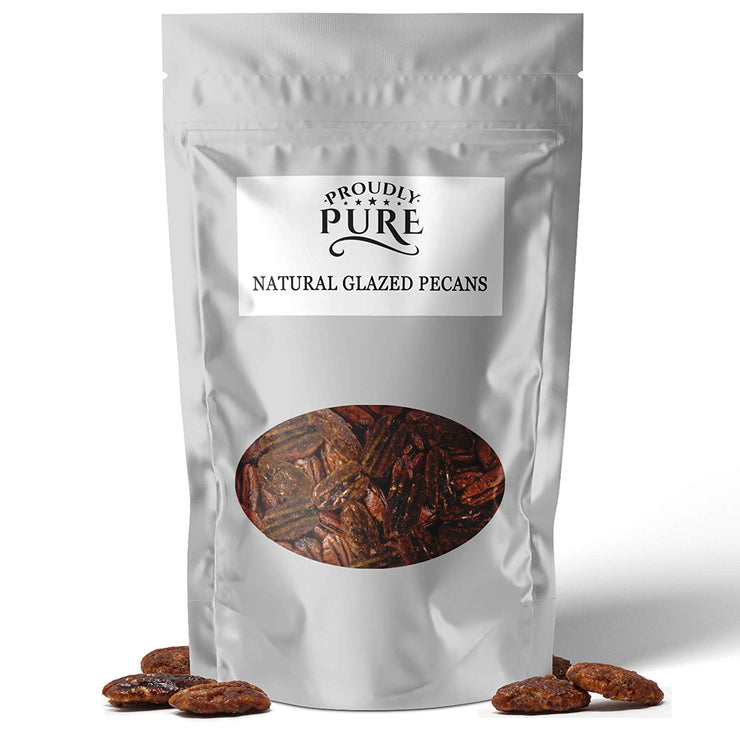 100% Natural Gourmet Glazed Pecan Nuts