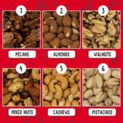 Holiday Nuts Gift Basket (18OZ)