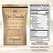 Proudly Pure Nut Bread Crumbs Alternative - Vegan, Kosher, Keto, Paleo (8oz)