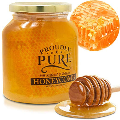 Proudly Pure Organic Unfiltered Honeycomb