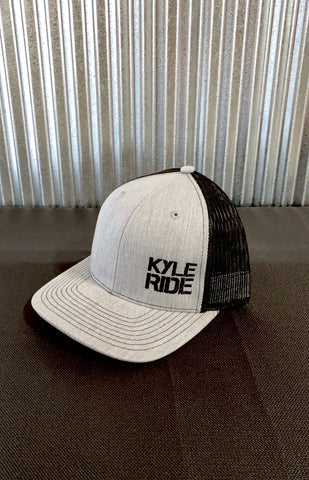 KYLE RIDE HAT - HEATHER GRAY