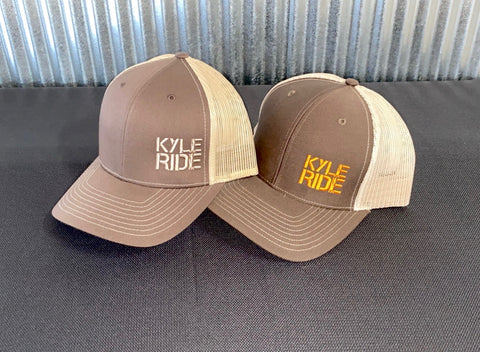 KYLE RIDE HATS - BROWN