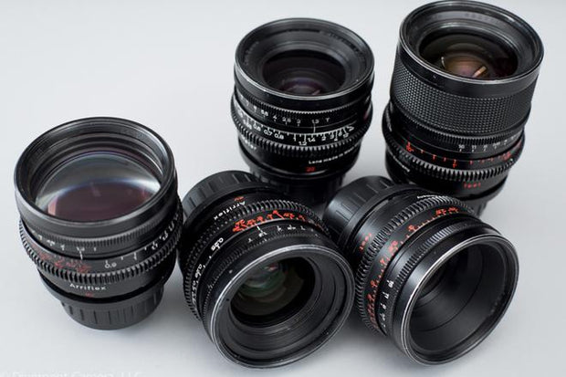 Zeiss Super Speed MKII Primes T1.3