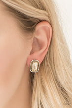 Load image into Gallery viewer, Paparazzi Incredibly Iconic - Brown Earrings