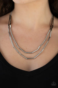 Paparazzi A Pipe Dream - Silver Necklace N-S44