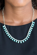Load image into Gallery viewer, Paparazzi Extinct Species - Blue Necklace