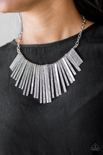 Load image into Gallery viewer, Paparazzi / Welcome To The Pack - Silver Necklace