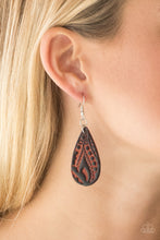Load image into Gallery viewer, Paparazzi Get In The Groove - Brown Earrings