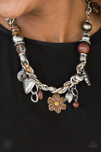 Load image into Gallery viewer, Paparazzi Charmed, I Am Sure - Brown Necklace