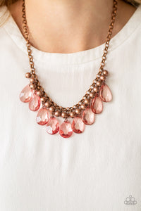 Paparazzi Fashionista Flair Copper Necklace