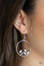 Load image into Gallery viewer, Paparazzi Cue The Confetti - Silver Earrings