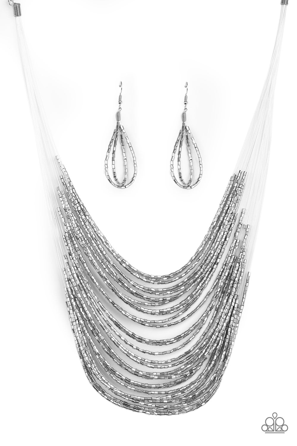Paparazzi Catwalk Queen - Silver Necklace