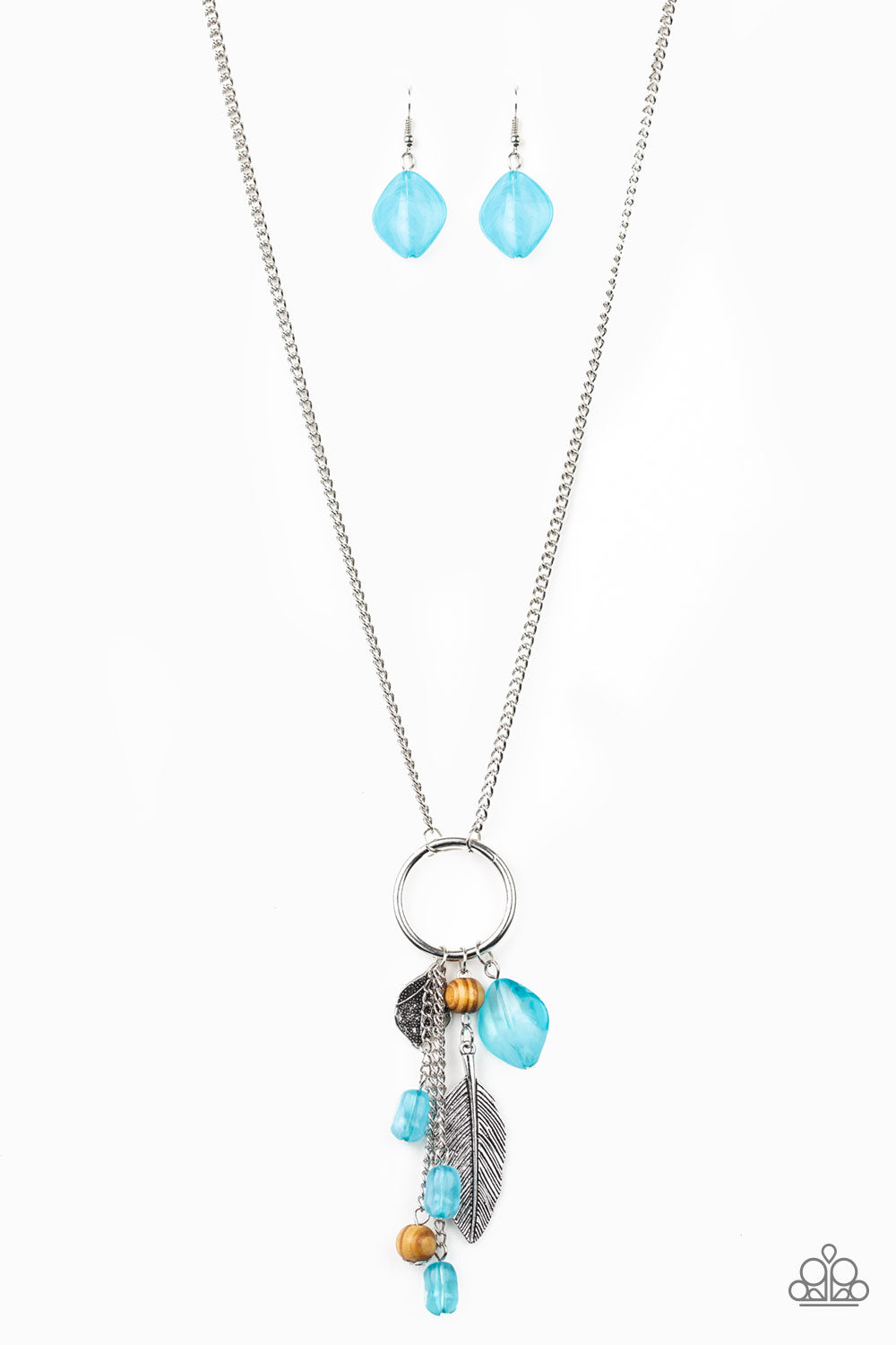 Paparazzi Sky High Style Blue Necklace N-B2