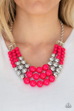 Load image into Gallery viewer, Paparazzi Dream Pop - Pink Necklace