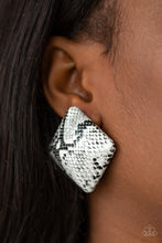 Load image into Gallery viewer, Paparazzi Making HISS-tory - White Earrings
