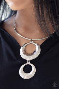 Paparazzi Egyptian Eclipse - Silver Necklace N-S16