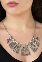 Load image into Gallery viewer, Paparazzi Vintage Vineyard - Silver Necklace N-S33