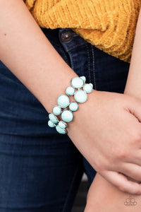 Paparazzi Confection Connection - Blue Bracelet