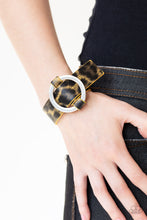 Load image into Gallery viewer, Paparazzi Jungle Cat Couture - Yellow Bracelet