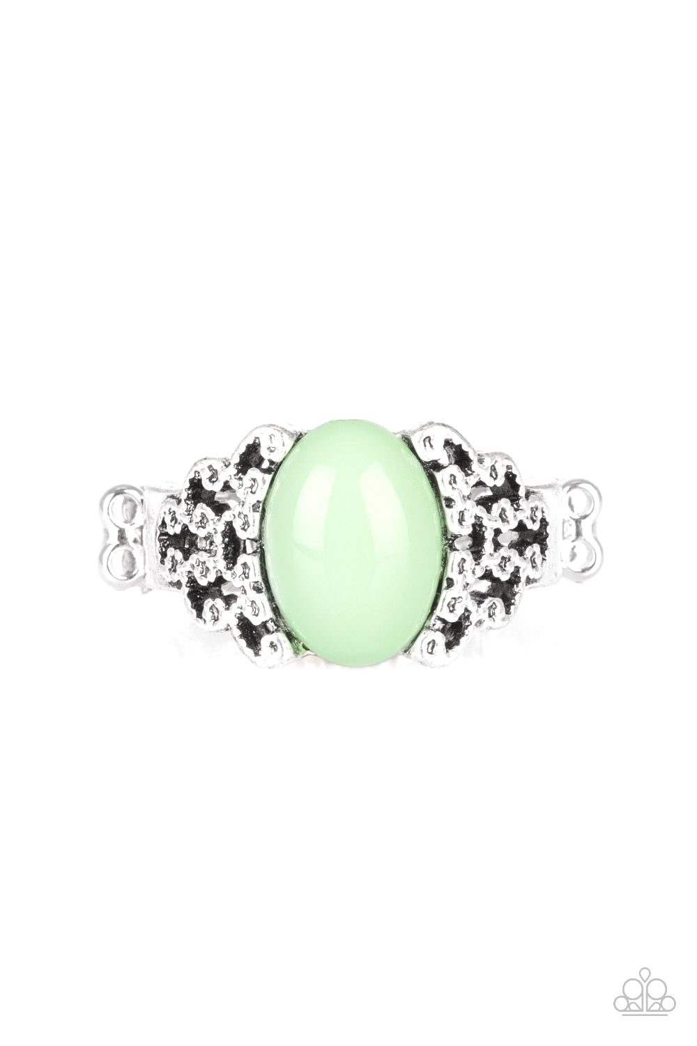Paparazzi Princess Problems Green Papa Ring