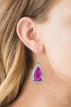 Load image into Gallery viewer, Paparazzi Superstar Stardom - Pink Earrings