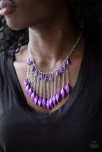 Load image into Gallery viewer, Paparazzi Venturous Vibes - Purple Necklace N-PU3