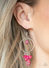 Load image into Gallery viewer, Paparazzi Where The Sky Touches The Sea - Pink Earrings