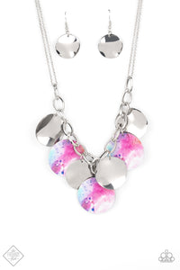 Tie Dye Drama - Multi Necklace