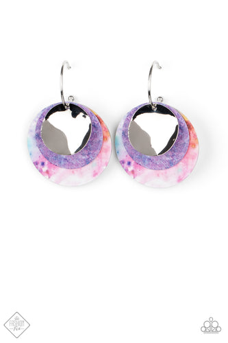 Ride or TIE DYE - Multi Earrings