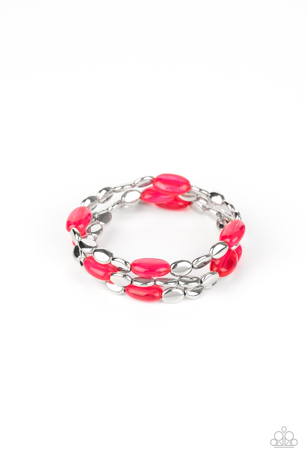 Paparazzi Sorry to Burst Your BAUBLE - Pink Bracelet B-PI1