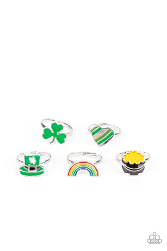 Paparazzi Starlet Shimmer St. Patty's Rings