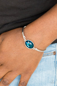 Paparazzi Definitely Dashing - Blue Bracelet