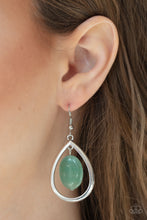 Load image into Gallery viewer, Paparazzi Seasonal Simplicity - Green Earrings