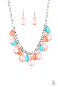 Paparazzi Just TEAR-rific - Multi Necklace N-M6