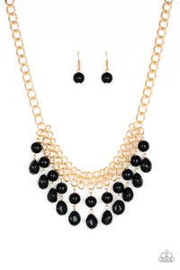 Paparazzi 5th Avenue Fleek - Black Necklace